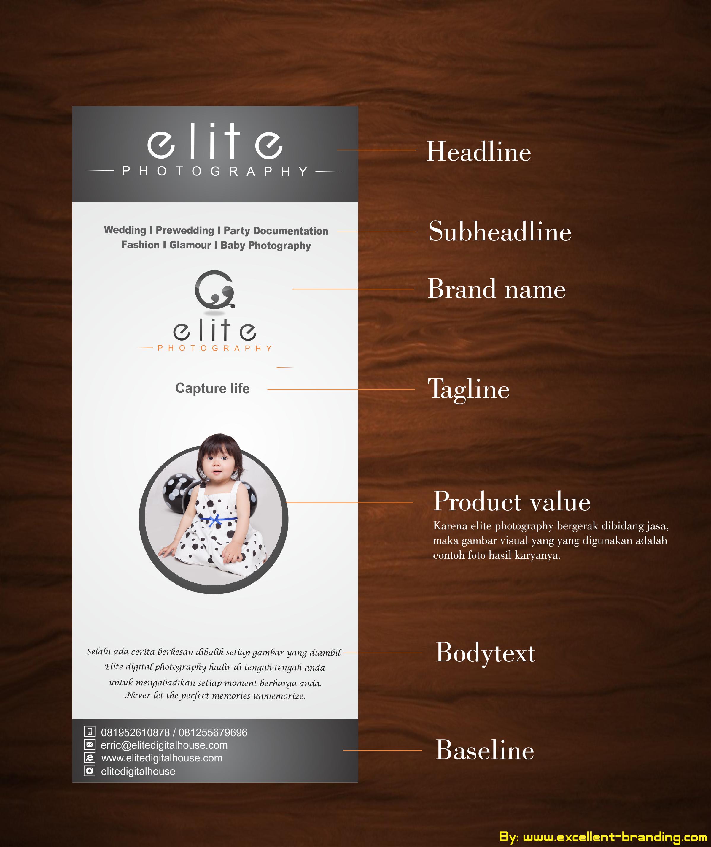 Elemen Desain Media Iklan Perusahaan Jasa Branding Desain Logo
