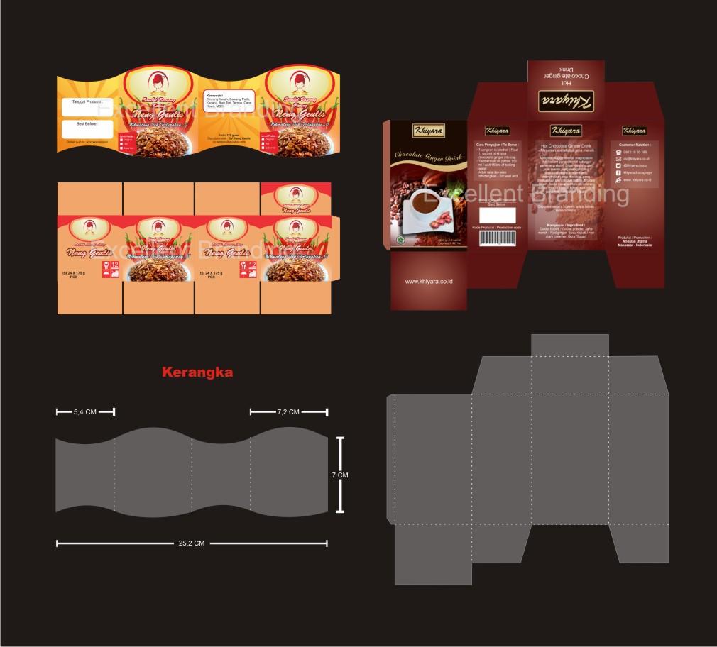 Portofolio desain packging new