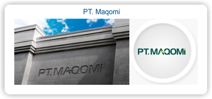 Logo PT. maqomi