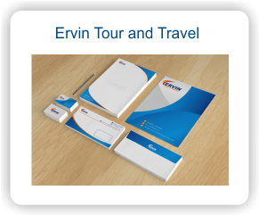 Stationary Perusahaan Ervin Tourn and Travel