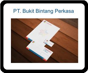 Stationary Perusahaan PT. Bukit Bintang Perkasa