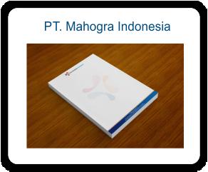 Stationary Perusahaan PT. Mahogra Indonesia
