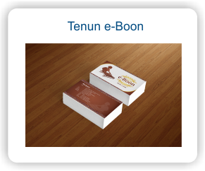 Stationary Perusahaan Tenun e-Boon
